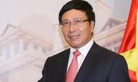 Vizepremierminister, Außenminister Pham Binh Minh zu Gast in Kanada