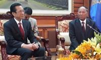 Kambodschas Parlamentspräsident: Vietnam ist ein guter Nachbar Kambodschas