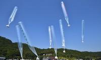 Nordkorea reagiert erneut auf die Verteilung von Flugblättern aus Südkorea