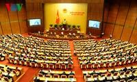 Parlamentarier diskutieren den Gesetzesentwurf zum Einsatz des Staatshaushalts
