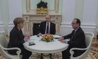 Präsident Hollande: Deutsch-französische Initiative gilt als letzte Bemühung für Ukraine-Krise