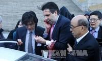 Nordkorea dementiert die Unterstützung für Messerattacke gegen US-Botschafter in Südkorea