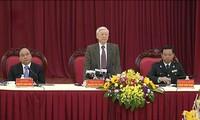 KPV-Generalsekretär Nguyen Phu Trong tagt mit Regierungsinspektion