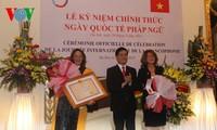 Feier zum Tag der Frankophonie in Hanoi
