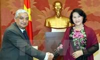 Vizeparlamentspräsidentin Nguyen Thi Kim Ngan trifft Delegation des Rechnungshofes Nepals