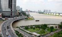 Ho Chi Minh Stadt entwickelt sich in 40 Jahren mit dem Land