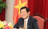 Staatspräsident Vietnams zu Gast bei Feier zum Jahrestag des Sieges im Großen Vaterländischen Krieg
