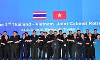 Gemeinsame Gespräche und Kabinettssitzung Vietnams und Thailands