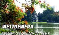 """Ergebnis des Wettbewerbs """"Was wissen Sie über Vietnam 2015"""""""