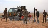 Russland unterstützt Soldaten der syrischen Regierung