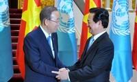 Premierminister Nguyen Tan Dung: Vietnam engagiert sich aktiv für UN-Tätigkeiten