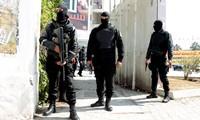 Demonstration zur Unterstützung der Terrorbekämpfung in Tunesien
