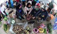 Markttag am Sonntag im Kreis Meo Vac