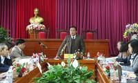 Überprüfung der Vorbereitung auf Parlamentswahlen in Vinh Phuc und Thai Binh