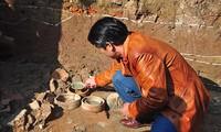 Historische Werte der Keramik Chu Dau durch archäologische Gegenstände