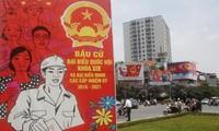 Internationale Medien berichten über die Wahlen in Vietnam