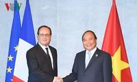 Treffen des Premierministers am Rande des G7-Gipfeltreffens