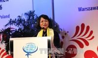 Vietnam nimmt am globalen Frauengipfel in Polen teil
