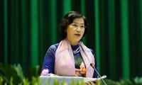 Parlamentspräsidentin trifft Abgeordneten aller Legislaturperioden der Provinz Quang Ninh