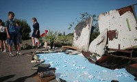 Ukraine: Gedenkfeier für Opfer des Flugzeugsunglücks MH17