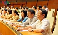 Parlament verabschiedet Wahlliste für Parlamentspräsident und Vizeparlamentspräsidenten