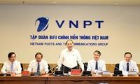 Premierminister: VNPT soll die führende Rolle im Markt der Telekommunikation Vietnams spielen