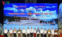 """Premierminister zu Gast beim Kunstprogramm """"Truong Bon- das ewige Epos"""""""
