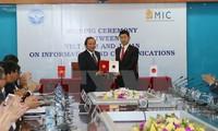 Dialog über Informationstechnologie- und Kommunikationspolitik zwischen Vietnam und Japan