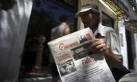 """Erste Hinweise der kubanischen Parteizeitung """"Granma"""" für US-Wähler in Kuba"""