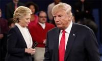 Meinungen über das zweite Fernsehduell der zwei Kandidaten der Präsidentschaftswahlen in USA