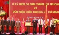 Staatspräsident Tran Dai Quang zu Gast beim 60. Gründungstag der TU Hanoi