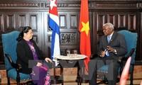 Vietnam und Kuba wollen die Beziehungen der beiden Parlamente vertiefen