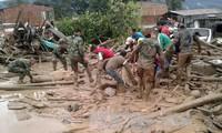 Kolumbien verstärkt die Rettungsarbeit für Opfer des Erdrutschs