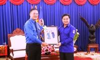 Jugendliche in Hanoi pflegen die besondere Freundschaft und Solidarität zwischen Vietnam und Laos