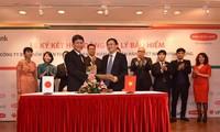 Unterzeichnung für Zusammenarbeit zwischen Dai-ichi Life Vietnam und der Bank SHB