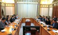Ho Chi Minh Stadt verstärkt Zusammenarbeit mit Ungarn und Japan