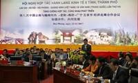 Zusammenarbeit des Wirtschaftskorridors Lao Cai-Hanoi- Hai Phong- Quang Ninh und Yunnan