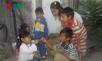 Folklorische Spiele der Volksgruppe Cham in Ninh Thuan