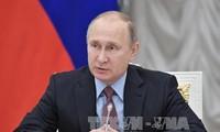 Wahl in Russland: Putin reicht Kadidatur für Präsidentenwahl ein