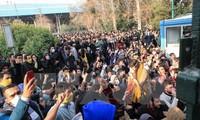Iran kündig das Ende der Demonstrationen an