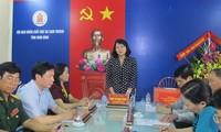 Vizestaatspräsidentin Dang Thi Ngoc Thinh empfängt Vertreter des Verbandes für Agent-Orange-Opfer