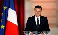 Frankreichs Präsident Emmanuel Macron beginnt seinen ersten Staatsbesuch in China