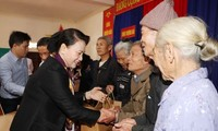 Parlamentspräsidentin Nguyen Thi Kim Ngan besucht die Provinz Ha Tinh