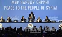 Weltspitzenpolitiker begrüßen die Ergebnisse der Syrien-Friedenskonferenz