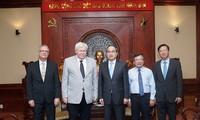 Ho Chi Minh Stadt verstärkt die Verbindung und Zusammenarbeit mit deutschen Universitäten
