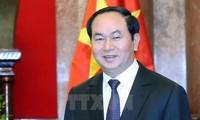 Interview mit Staatspräsident Tran Dai Quang über seinen Besuch in Indien