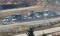 Rebellen attackieren den neuen humanitären Korridor im syrischen Ost-Ghuta