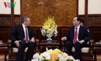 Staatspräsident Tran Dai Quang empfängt Botschafter aus Südafrika und Ägypten
