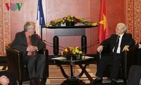 Verbesserung der Freundschaft zwischen Vietnam und Frankreich