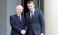 Gemeinsame Erklärung: Vietnam und Frankreich verständigen sich auf wichtige Zusammenarbeit